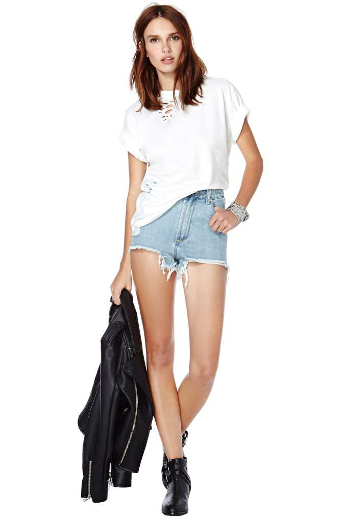 After Party Vintage Essential Tee at Nasty Gal