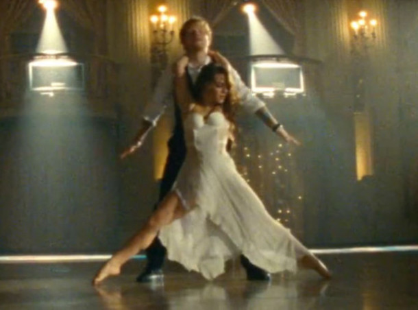 dress white dress ed sheeran
