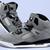 Nike Women's Jordan Spizike iD Jordans - Black/Grey Suede