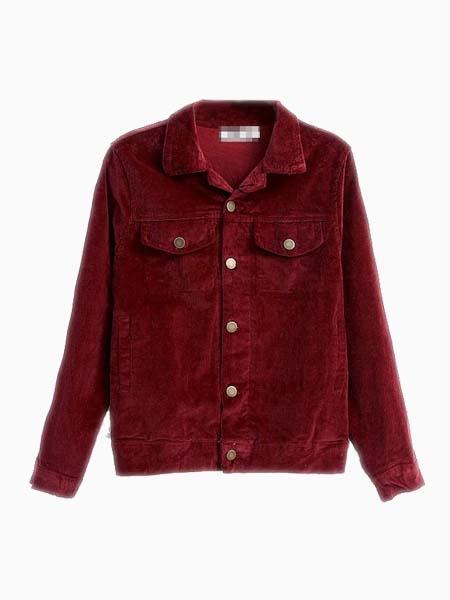 New Look Jacket In Corduroy | Choies