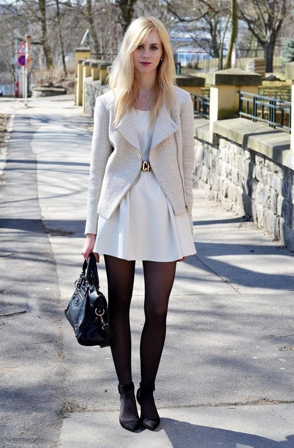 vogue haus dress jacket shoes bag belt jewels