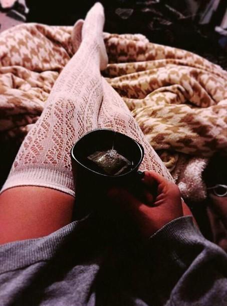 socks thigh highs
