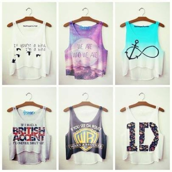 tank top graphic tank top one direction warner brother