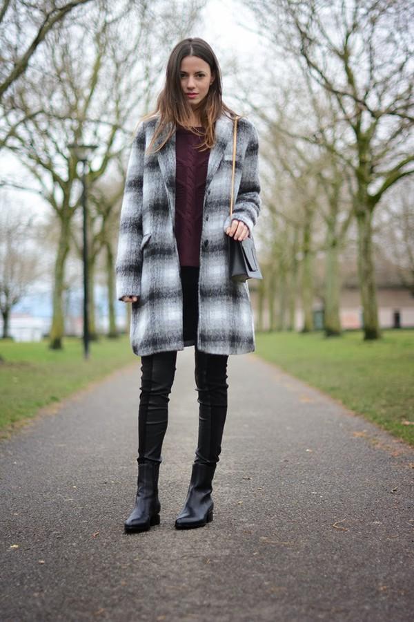 fashion vibe shoes pants sweater bag coat