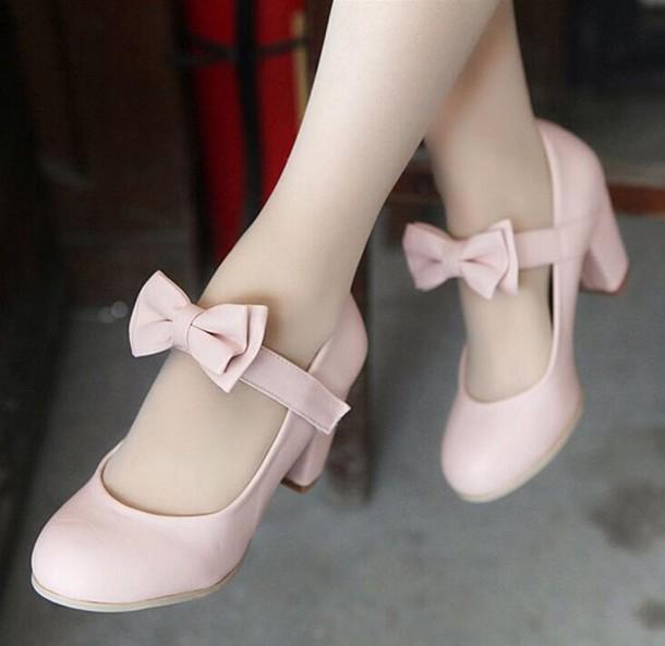 shoes kawaii shoes pastel pink