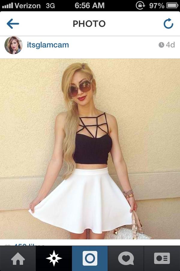 skirt shirt circle skirt