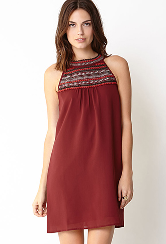 World Girl Swing Dress | FOREVER21 - 2000110202