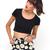 Buy Motel Mizzy Short in Wild Daisy Black and White at Motel Rocks