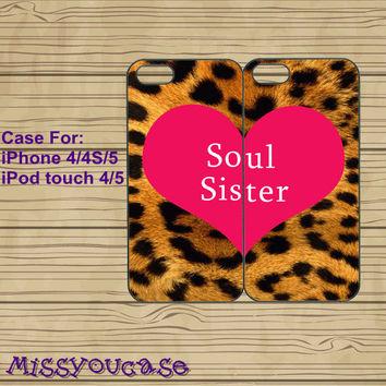 iphone 4 case,iphone 4s case,cute iphone 4 case,iphone 5 case,cute iphone 5 case,soul sister,best friends case,in plasitc,silicone. on Wanelo