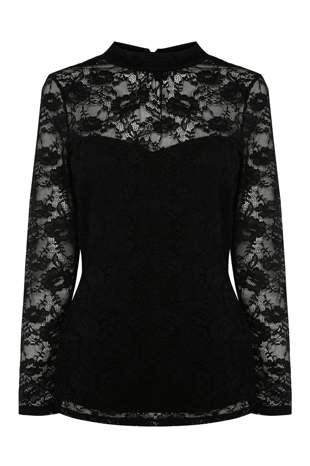 All Sale | Black HEATHER LACE TOP  | Coast Stores Limited