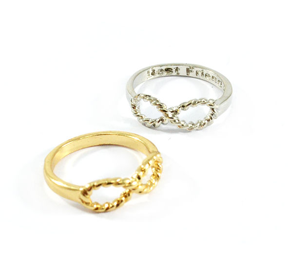 INFINITY RING 2 - Rings & Tings | Online fashion store | Shop the latest trends