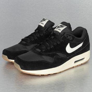 Nike Air Max 1 Essential Sneakers Black/Sail/Gum Light Brown von Def-Shop.com on Wanelo