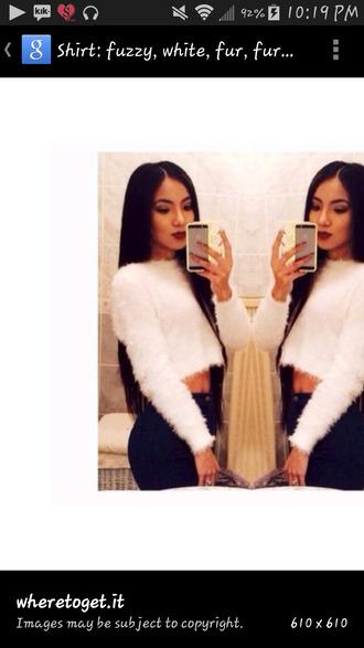 fur long sleeve skirt iphone faux fur faux sweater