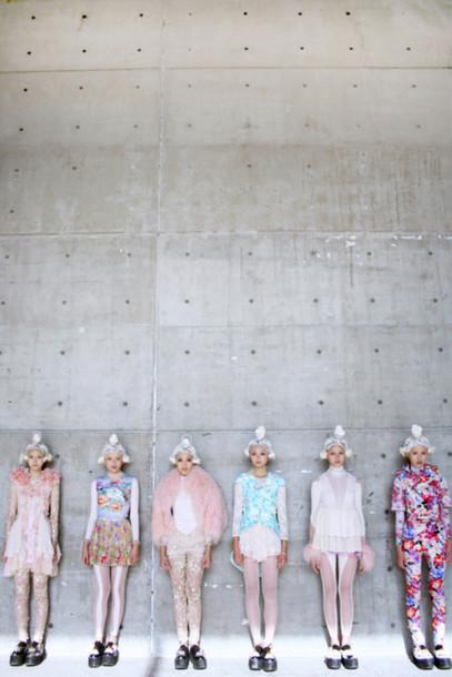 dress japan japanese fashion pale girly