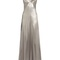 V-neck sleeveless silk-satin gown | galvan | matchesfashion.com us
