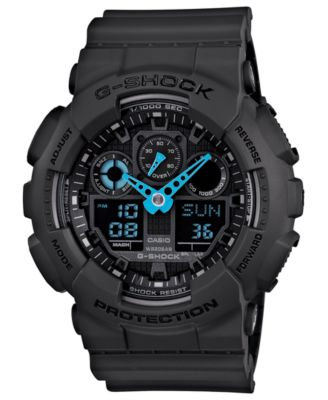 G-Shock Watch, Men's Digital Black Resin Strap 53x46mm GW2310FB-1 - Watches - Jewelry & Watches - Macy's