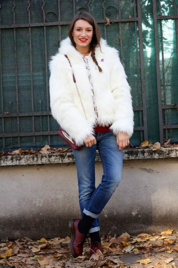style and trouble shoes bag jeans sweater