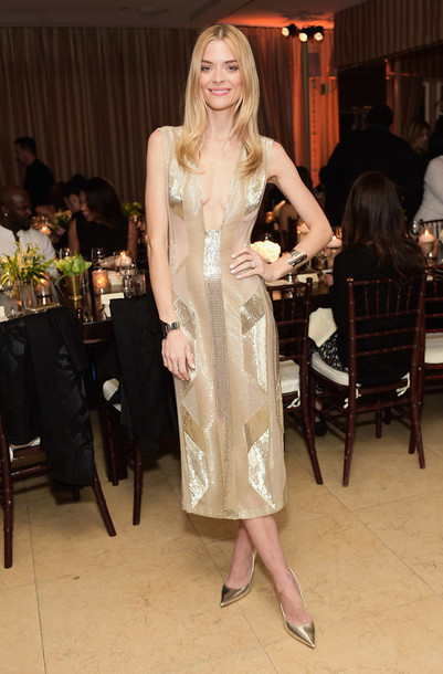 dress gold sequins jaime king gown