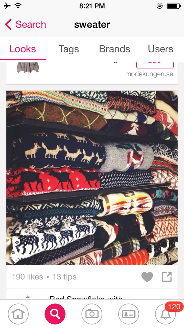 sweater style hipster pattern pretty vintage