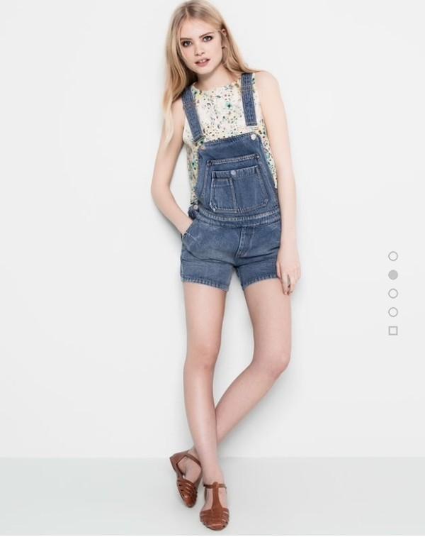 jumpsuit salopette jeans