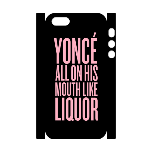 Yonce! Custom Case for iPhone 5,5S 3D