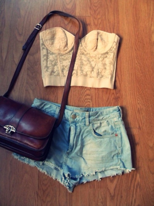 bag shorts shirt