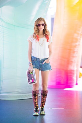 the blonde salad blogger shoes jewels bag sunglasses