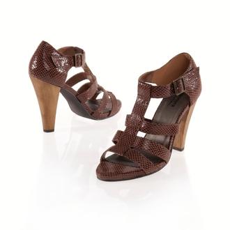 sandales talon shoes