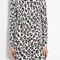 Love moschino | leopard print jersey long sleeve dress by love moschino