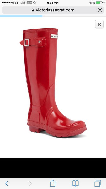 shoes red shoes black boots hunter boots wellies