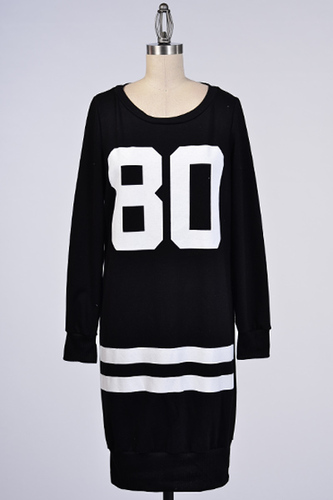 Ball Hard Sweater Dress - JuJu's Closet