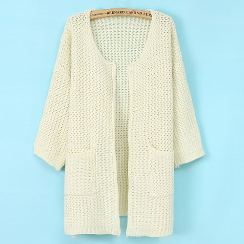 [ghyxh3600822]Leisure Sweet Candy Color Loose Fitting Cardigan on Luulla