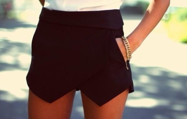 shorts pockets oragami