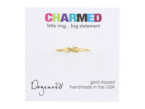 Dogeared Infinity Ring Gold - Zappos.com Free Shipping BOTH Ways