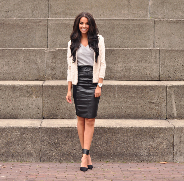 satisfashion skirt jacket shoes jewels