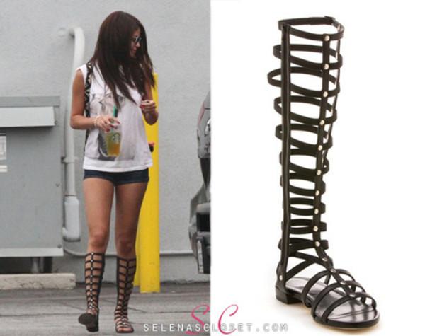 shoes high top selena gomez top short