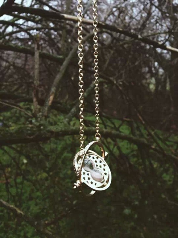jewels necklace gold harry potter time