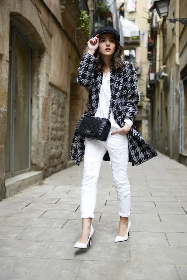 lovely pepa jewels coat jeans shoes shirt