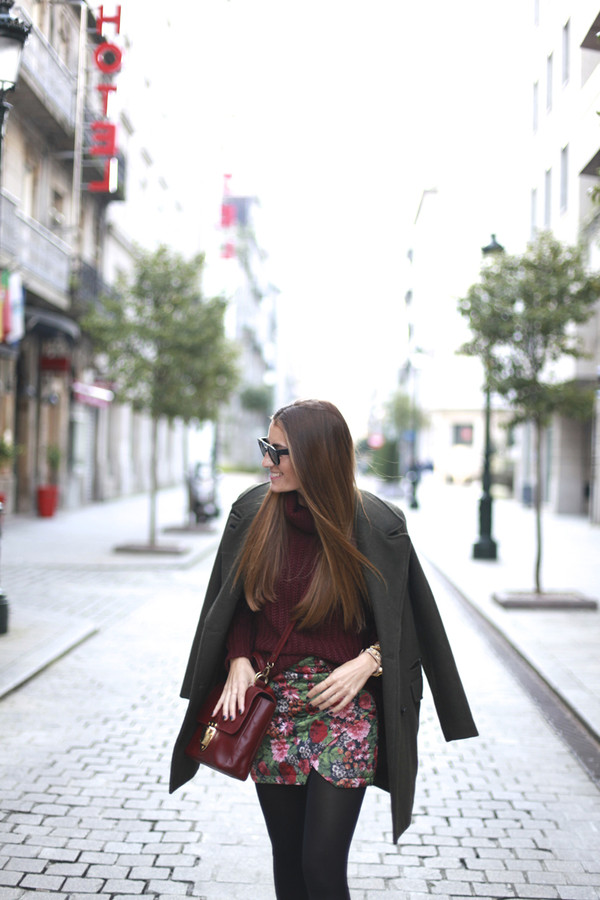 b a r t a b a c skirt sweater coat shoes bag
