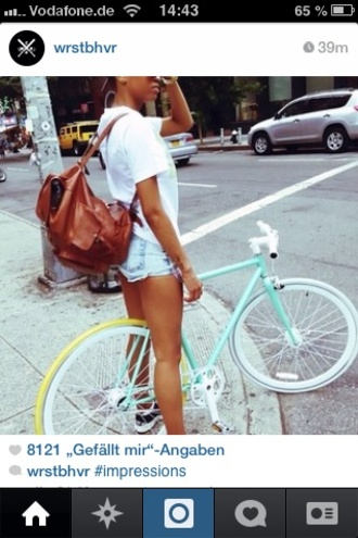 jewels bike pastel pastel blue white summer sunshine light blue baby blue