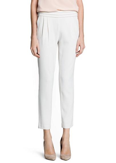 MANGO - VÊTEMENTS - Pantalons - Pantalon baggy plissé