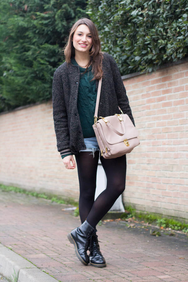 style and trouble jacket bag shorts shoes sweater