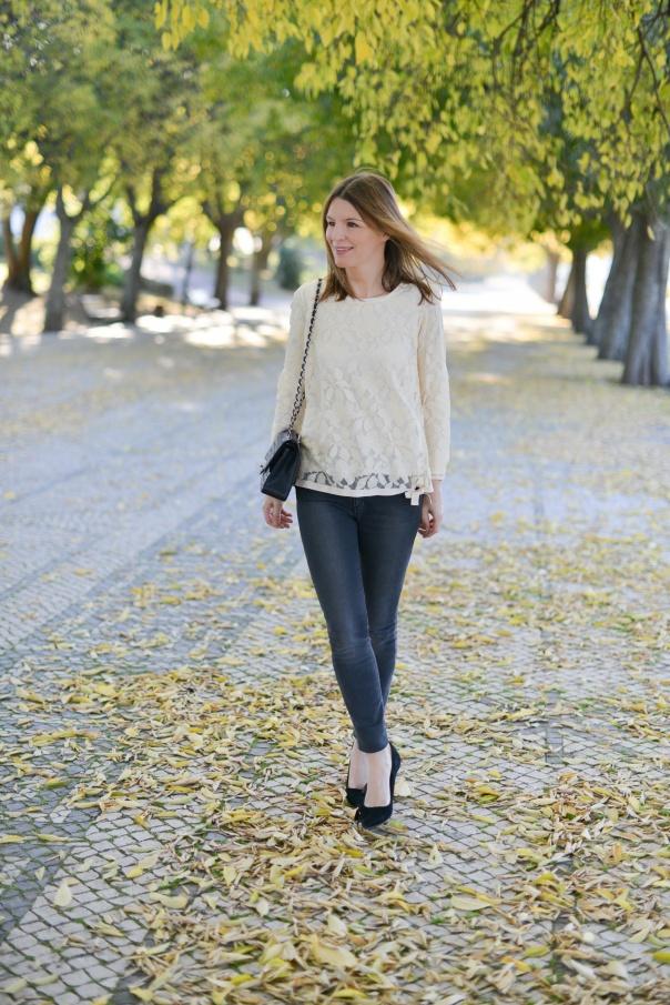 Top Dentelle Bellerose | Blog Mode - The Working Girl