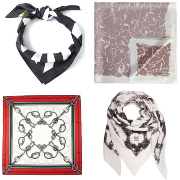 northern light scarf silk scarf