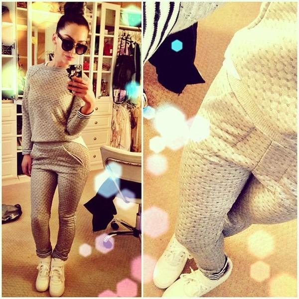 blouse clothes pants sunglasses shoes