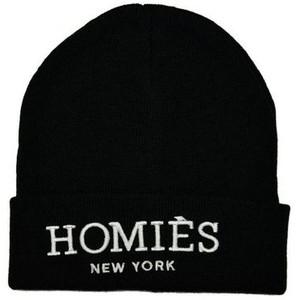 Reason Clothing Homies Beanie - Black - Polyvore