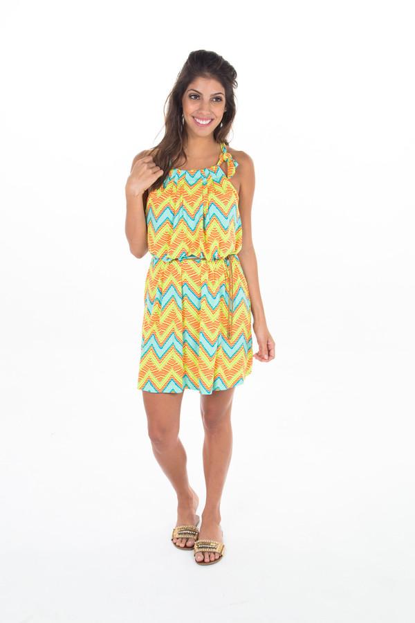 dress open shoulders dress summer dress swing dress