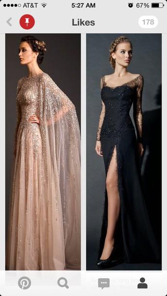dress creme dress prom dress prom gown black dress