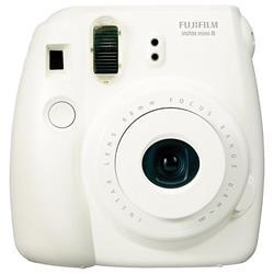 Fuji Instax Mini 8 White Instant Camera (P10GLB3050A) - dabs.com