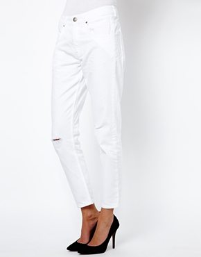 French Connection | French Connection Venice Boyfriend Jeans with Rips at ASOS